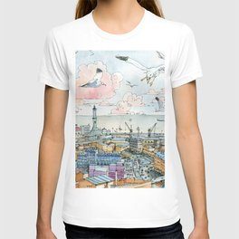 Genova e la Lanterna T-shirt