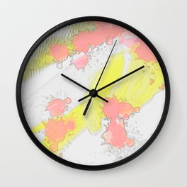 Flash colors Wall Clock