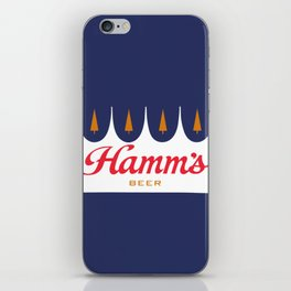 HAMM'S 1 iPhone Skin