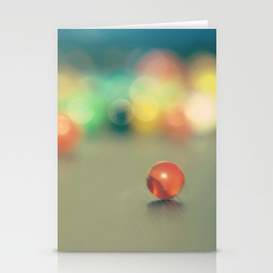 Marble Fun Stationery Cards