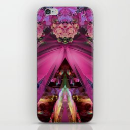 Crystal Blooms iPhone Skin