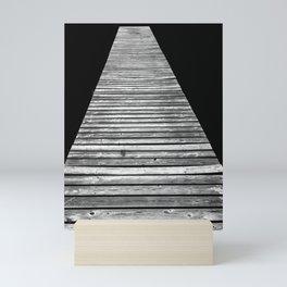 Wood On Lake 4 Mini Art Print