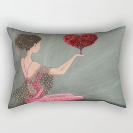RED LOVE Rectangular Pillow