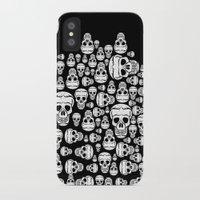 halloween iPhone & iPod Cases featuring halloween by mark ashkenazi