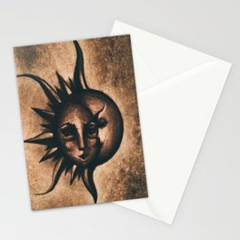 Lune et Soleil (Moon and Sun) Stationery Cards