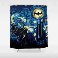 knight Shower Curtains featuring Starry Knight iPhone 4 4s 5 5c 6, pillow case, mugs and tshirt by Three Second