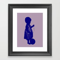 Sugar & Spice and Everything Nice Framed Art Print