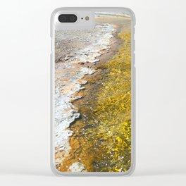 Liquid Gold II Clear iPhone Case