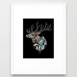 Wapiti Framed Art Print