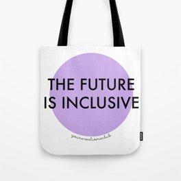 The Future Is Inclusive - Purple Tote Bag