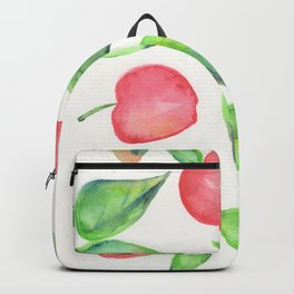 Apples: Watercolor Painting Backpack