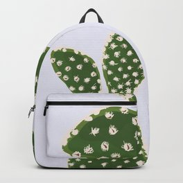 Desert Bunny - Bunny Ears Cactus Purple and Green Backpack