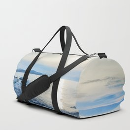 Frozen wharf and Halo Duffle Bag