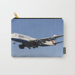 One World Boeing 747 Carry-All Pouch
