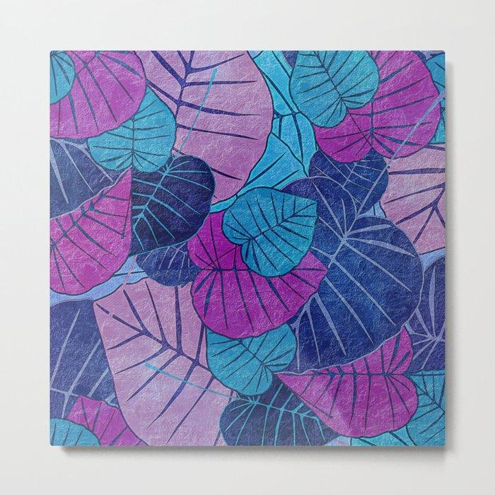 Leaf Pattern 3 Metal Print