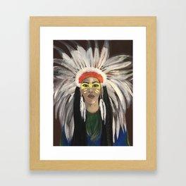 Manwo Framed Art Print