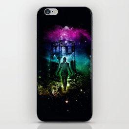 time traveller v2 iPhone Skin
