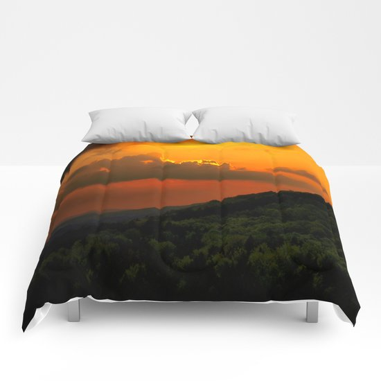 Magical Sunset Comforters