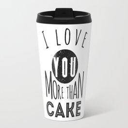 cake love Travel Mug