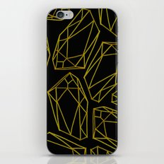 golden emptiness. iPhone & iPod Skin