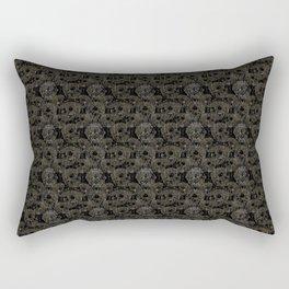 Death Globe Rectangular Pillow
