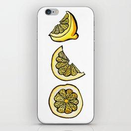 Trois Citrons 1 iPhone Skin