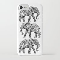ornate iPhone & iPod Cases featuring Ornate Elephant 3.0 by BIOWORKZ