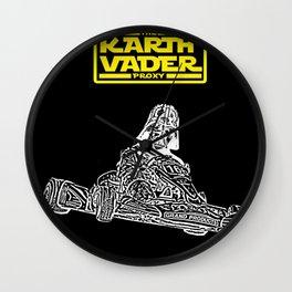 Kart Vader Wall Clock