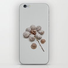 Playful snails, morning people iPhone & iPod Skin
