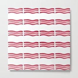 Bacon Strips Metal Print