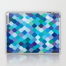 Blue Scales Laptop & iPad Skin