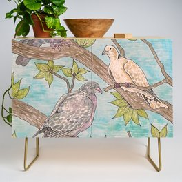 Various Pigeons Credenza