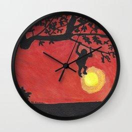 Just a Swingin' Wall Clock