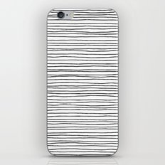 Lines White iPhone & iPod Skin