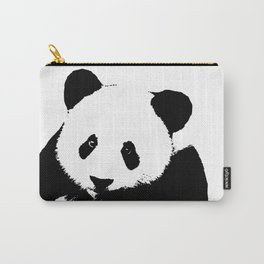 Giant Panda in Black & White Carry-All Pouch