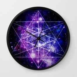 Flower of Life : Sacred Geometry Wall Clock