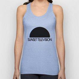 Sunset Television Logo Unisex Tank Top