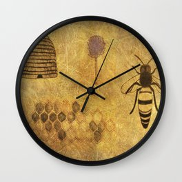 Cellular Resident Wall Clock