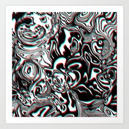 Furious World Art Print