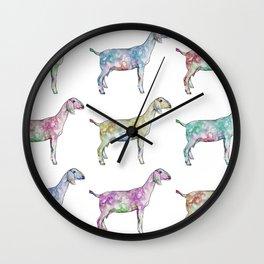 Rainbow Nubians Wall Clock