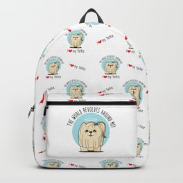 I love my Yorkie Backpack