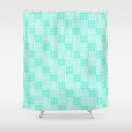 Interpretive Weaving (Lazy May) Shower Curtain