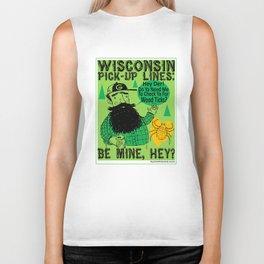 Wisconsin Pick-Up Lines Biker Tank