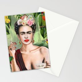 Frida con Amigos Stationery Cards