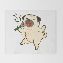 Sing Sing Sing Throw Blanket