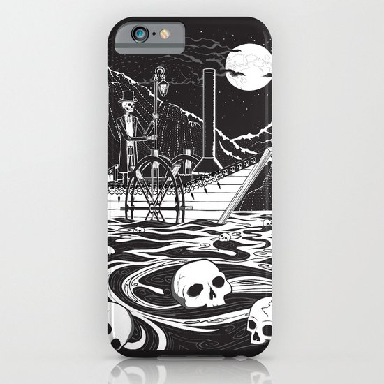 Steamboat across the Styx iPhone & iPod Case