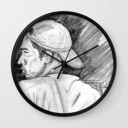 Nostalgic guy Wall Clock