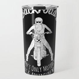 The Backroad Ball (white version) Travel Mug