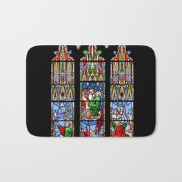 Cathedral Stained Glass 2 Bath Mat