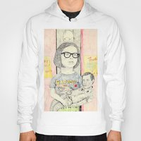 ghost world Hoodies featuring ghost world by withapencilinhand